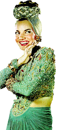 Carmen Miranda Colorida